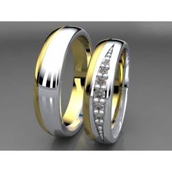 Snubní prsteni  DEVONE 330 5203