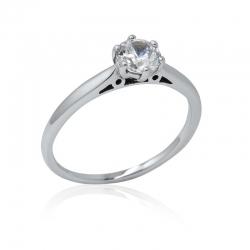 Zásnubní prsten se zirkonem - Elegant soliter