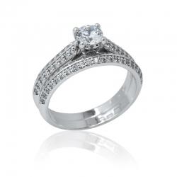 Luxusní zásnubní prsten-LUXURY PURE