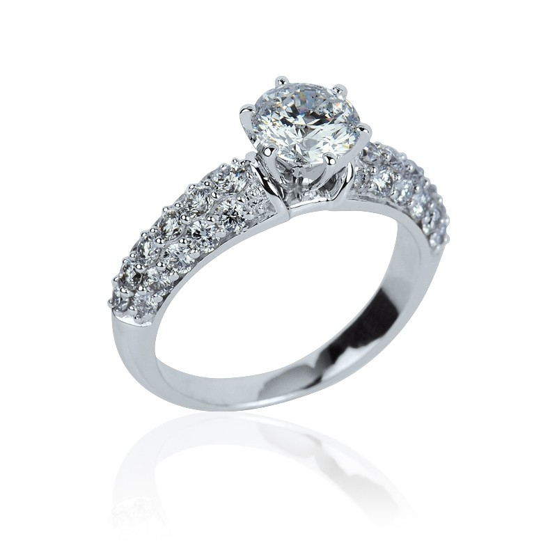 Zasnubni Prsten S Brilianty Luxury Premium Raj Snubnich Prstenu