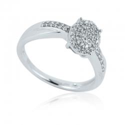 Zásnubní prsten s brilianty - luxury premium
