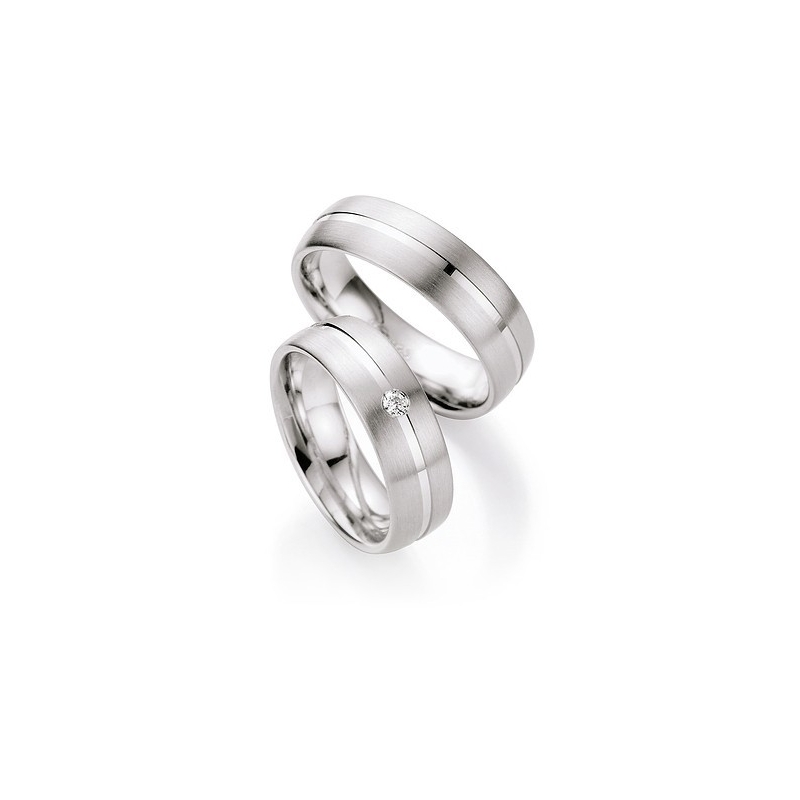 Moderni Stribrne Snubni Prsteny Kus Raj Snubnich Prstenu
