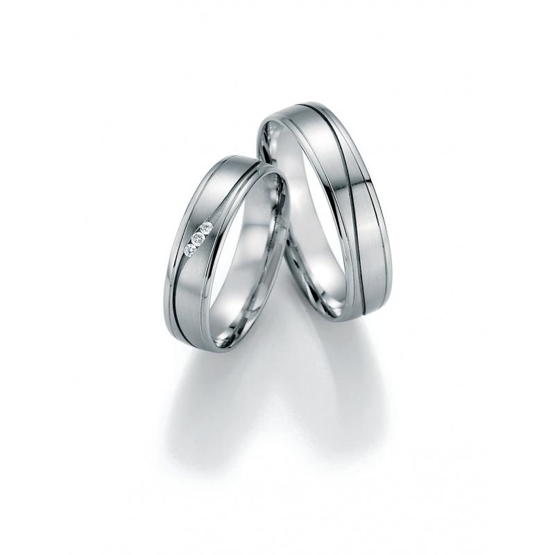 Luxusní snubní prsteny bílé zlato s brilianty - Ráj snubních prstenů c77d4702a40