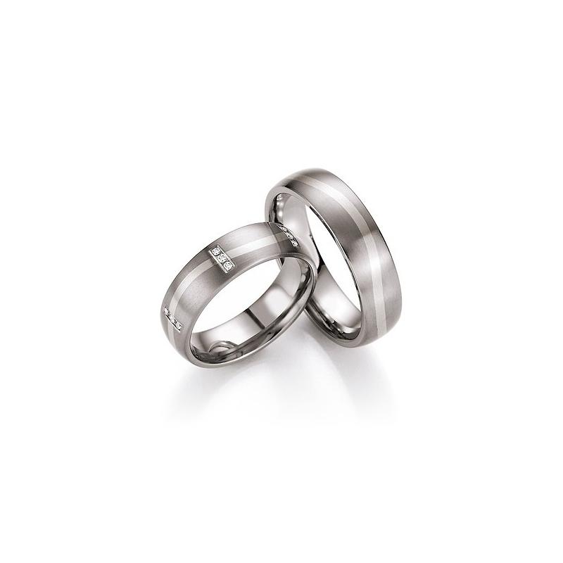 Snubni Prsteny V Kombinaci Titanu Se Zlatem Od 5 999 Za Kus Raj