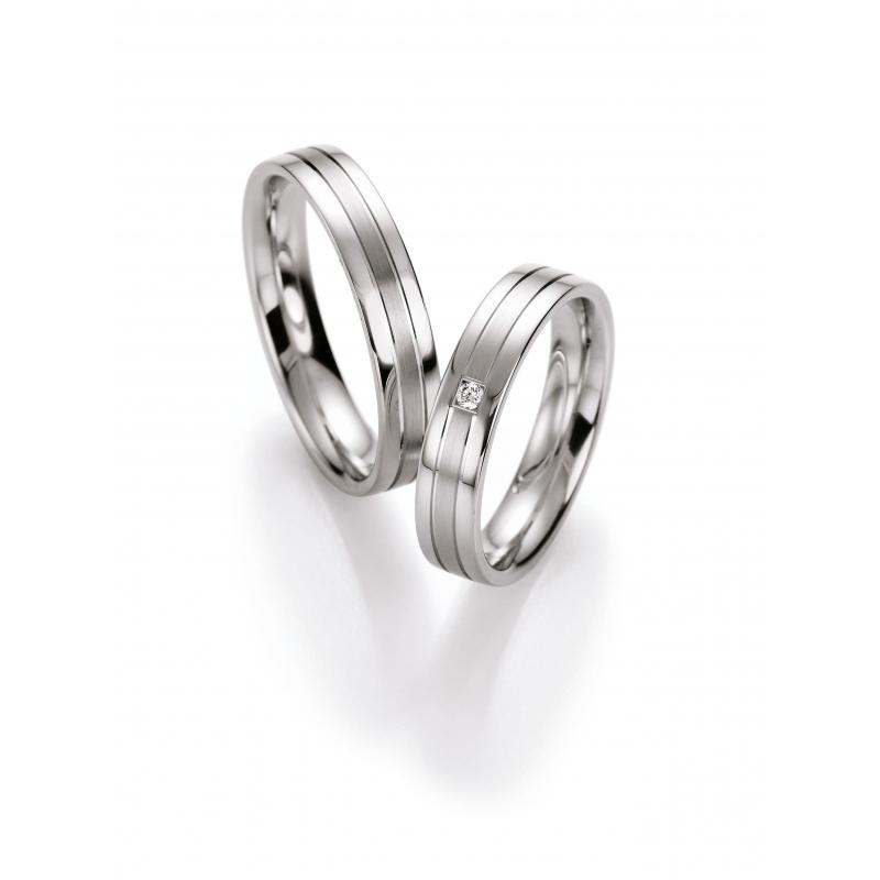Elegantni Snubni Prsteny Ze Stribra Raj Snubnich Prstenu
