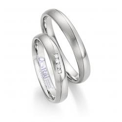 Decentní snubní prsteny z chirurgické oceli nová kolekce