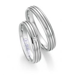 Profilované snubní prsteny  z chirurgické oceli - nová kolekce