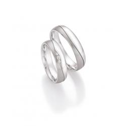 Luxusní snubní prsteny ze stříbra - Dream