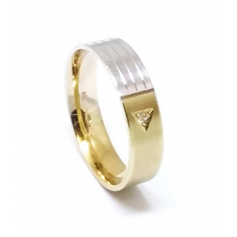 Zlaty Snubni Prsten Velikost 58 Raj Snubnich Prstenu