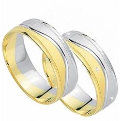 Výběr z kolekce zlaté snubní prsteny  MARIANNE  pár od 8.990,- Kč