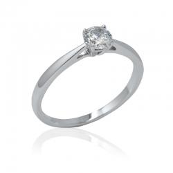 Zásnubní prsteny s briliantem Kolekce Elegant soliter briliant