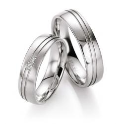 Výběr z kolekce - snubní prsteny SILVER  Briliant kus od   2399.-Kč