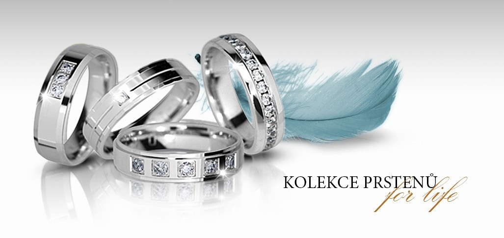 Kolekce prstenů For life