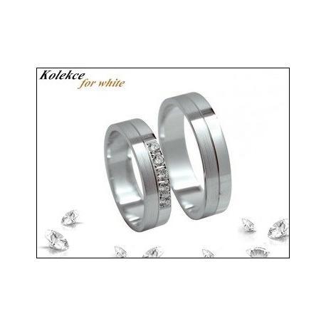 Snubní prsteny Kolekce for white