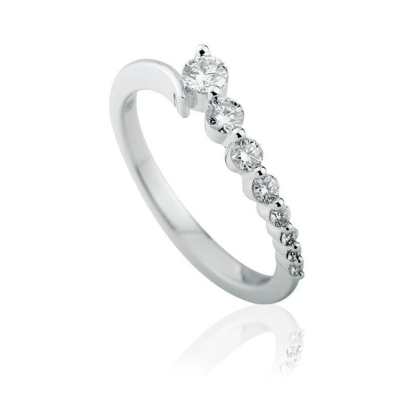 99140423c Zásnubní prsten s brilianty - luxury premium - Ráj snubních prstenů