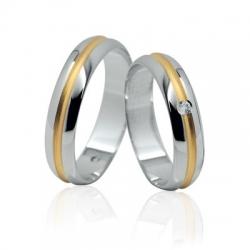 Snubní prsteny elegance 118K