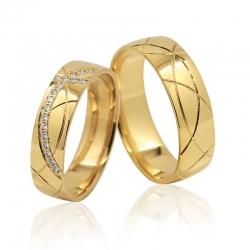 Snubní prsteny Elegance 1131B