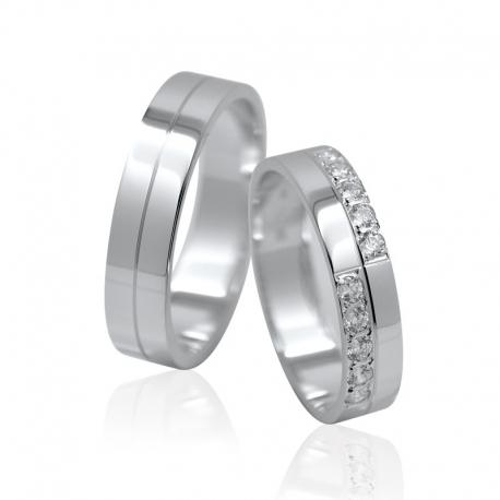 Snubní prsteny elegance 1112F