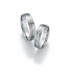 Luxusní snubní prsteny bílé zlato s brilianty