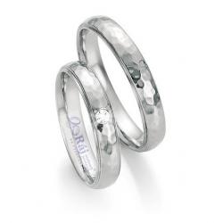 Atypické snubní prsteny z chirurgické oceli nová kolekce
