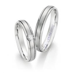 Klasické prsteny z chirurgické oceli v novém designu fasování