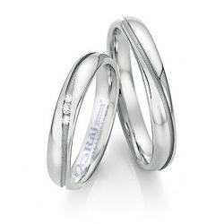 Elegantní snubní prsteny z chirurgické oceli - nová kolekce