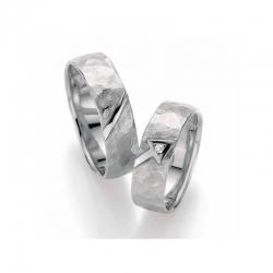 Stříbrné snubní prsteny SILVER EXCLUSIV - Amor