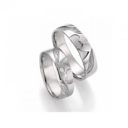 Stříbrné snubní prsteny SILVER EXCLUSIV - Doppelherz
