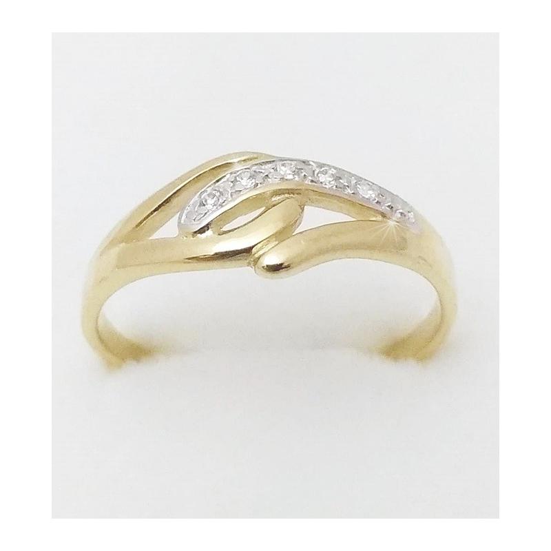 69724b854 Dámský zlatý prsten velikost 64 - Ráj snubních prstenů