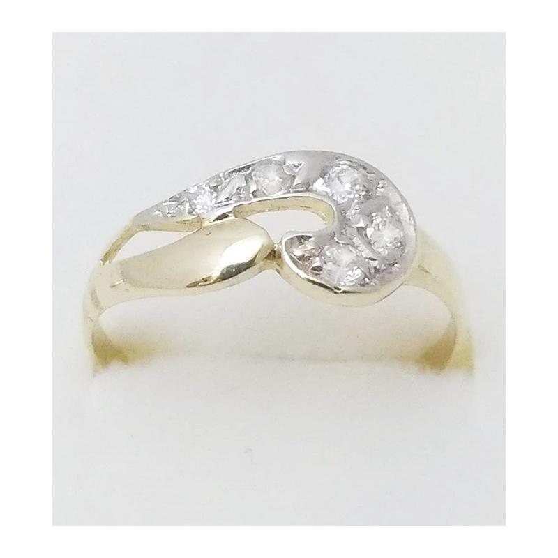 b3b50848b Dámský zlatý prsten velikost 57 - Ráj snubních prstenů