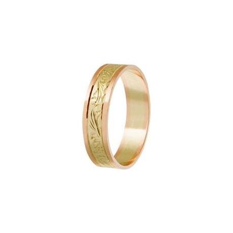 Zlatý snubní prsten