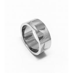 Prsten z chirurgické oceli velikost 49