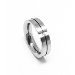 Prsten z chirurgické oceli velikost 54,5