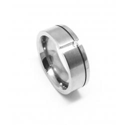 Prsten z chirurgické oceli velikost 52