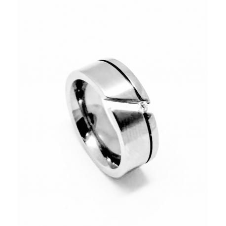 Snubní prsten ocel