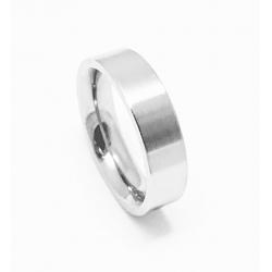 Prsten z chirurgické oceli velikost 58