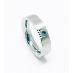 Prsten z chirurgické oceli velikost 54