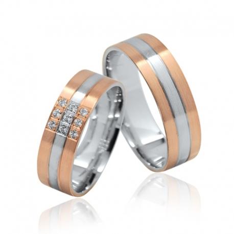 Romantik luxusní masivní prsteny