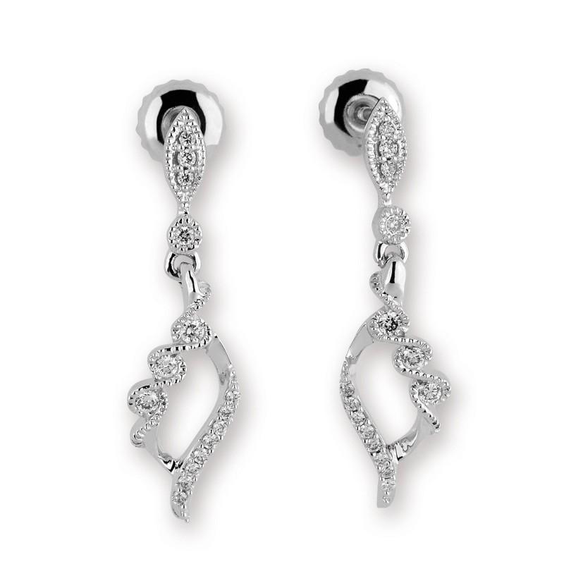 422e55c19 Luxusní briliantové náušnice - Ráj snubních prstenů