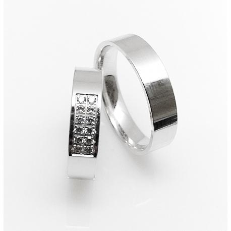 Snubní prsteny Kolekce FOR LIFE / 5 P 5