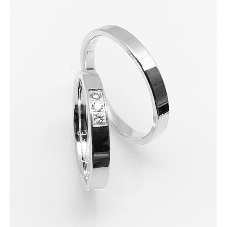Snubní prsteny FOR LIFE / 3 P 2