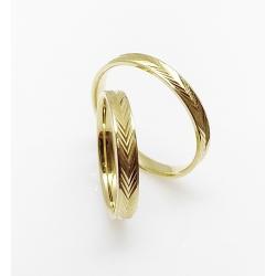 Snubní prsteny FOR LIFE / 3 AB 1(ž)