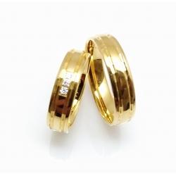 Snubní prsteny FOR LIFE akční cena za pár