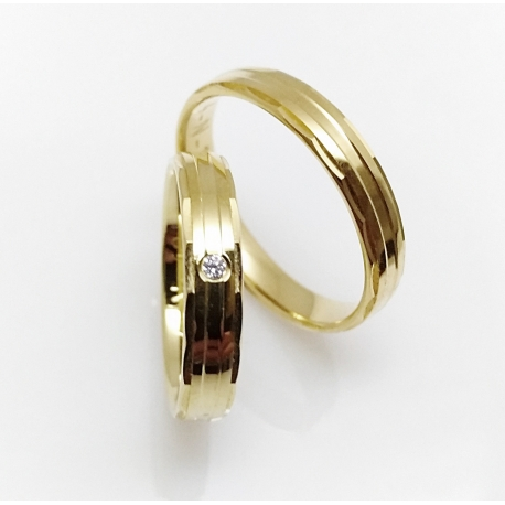 Snubní prsteny FOR LIVE / 4 N 18(ž)