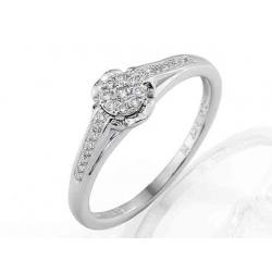 Zásnubní prsten s briliantem-Elegant briliant