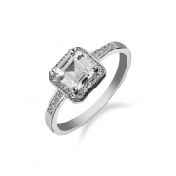 Stříbrné zásnubní prsteny