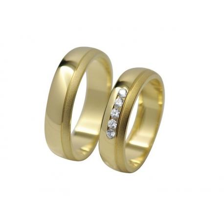 Snubní prsteny Kolekce RETOFY/9D