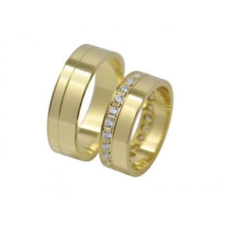 Snubní prsteny Kolekce RETOFY/16B