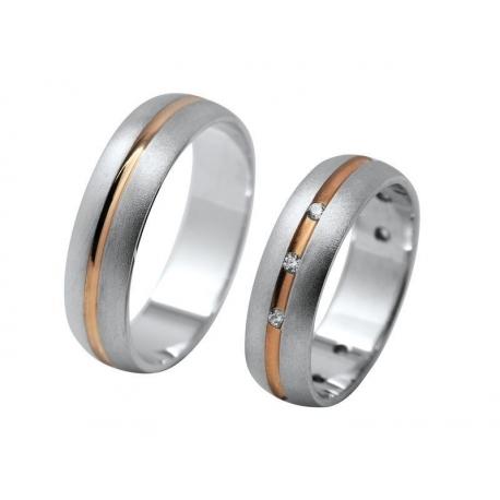 Snubní prsteny elegance 1111D