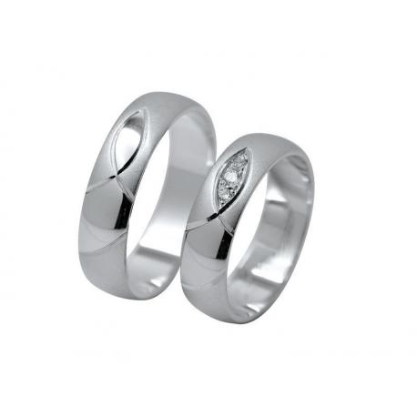 Snubní prsteny elegance 1111A
